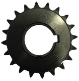 "H4020X138 20-Tooth, 40 Standard Roller Chain Finished Bore Sprocket (1/2"" Pitch, 1 3/8"" Bore) - Froedge Machine & Supply Co., Inc."