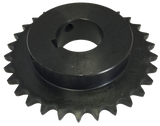 "H4030X1716 30-Tooth, 40 Standard Roller Chain Finished Bore Sprocket (1/2"" Pitch, 1 7/16"" Bore) - Froedge Machine & Supply Co., Inc."