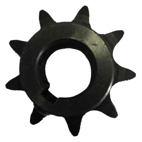 "H409X58 9-Tooth, 40 Standard Roller Chain Finished Bore Sprocket (1/2"" Pitch, 5/8"" Bore)"