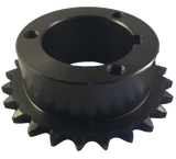"H40P24 24-Tooth, 40 Standard Roller Chain Split Taper Sprocket (1 1/2"" Pitch) - Froedge Machine & Supply Co., Inc."