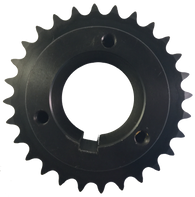 "H40P28 28-Tooth, 40 Standard Roller Chain Split Taper Sprocket (1 1/2"" Pitch) - Froedge Machine & Supply Co., Inc."