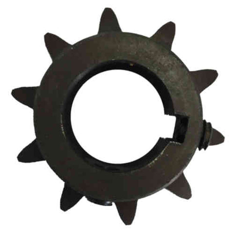 "H5010X1 10-Tooth, 50 Standard Roller Chain Finished Bore Sprocket (5/8"" Pitch, 1"" Bore)"