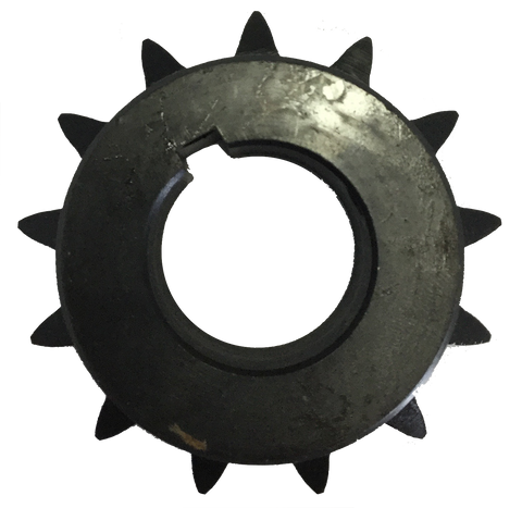 "H6013X118 13-Tooth, 60 Standard Roller Chain Finished Bore Sprocket (3/4"" Pitch, 1 1/8"" Bore) - Froedge Machine & Supply Co., Inc."