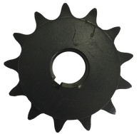 "H4013X1 13-Tooth, 40 Standard Roller Chain Finished Bore Sprocket (1/2"" Pitch, 1"" Bore) - Froedge Machine & Supply Co., Inc."