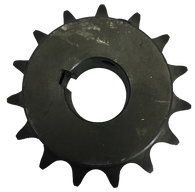 "35G15 15-Tooth, 35 Standard Roller Chain Split Taper Sprocket (3/8"" Pitch) - Froedge Machine & Supply Co., Inc."