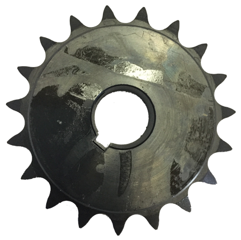 "H6019X114 19-Tooth, 60 Standard Roller Chain Finished Bore Sprocket (3/4"" Pitch, 1 1/4"" Bore) - Froedge Machine & Supply Co., Inc."