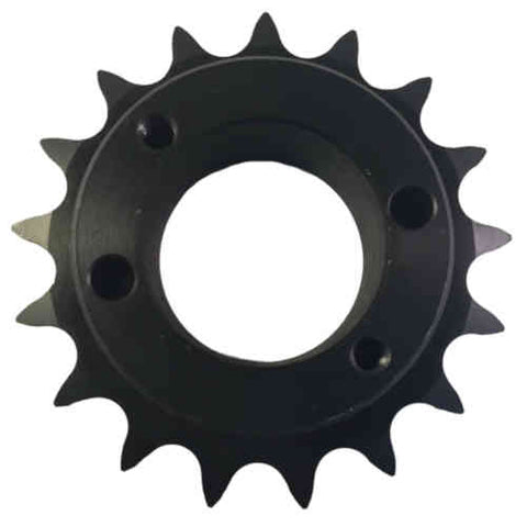 "H50H17 17-Tooth, 50 Standard Roller Chain Split Taper Sprocket (5/8"" Pitch)"