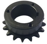 "H50P17 17-Tooth, 50 Standard Roller Chain Split Taper Sprocket (5/8"" Pitch) - Froedge Machine & Supply Co., Inc."