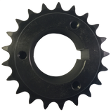 "H50P21 21-Tooth, 50 Standard Roller Chain Split Taper Sprocket (5/8"" Pitch) - Froedge Machine & Supply Co., Inc."
