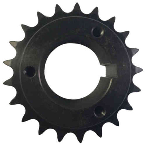 "H50P21 21-Tooth, 50 Standard Roller Chain Split Taper Sprocket (5/8"" Pitch)"