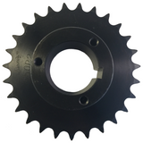 "H50P27 27-Tooth, 50 Standard Roller Chain Split Taper Sprocket (5/8"" Pitch) - Froedge Machine & Supply Co., Inc."