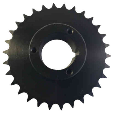 "H50P30 30-Tooth, 50 Standard Roller Chain Split Taper Sprocket (5/8"" Pitch)"