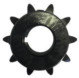 "H6010X1 10-Tooth, 60 Standard Roller Chain Finished Bore Sprocket (3/4"" Pitch, 1"" Bore) - Froedge Machine & Supply Co., Inc."