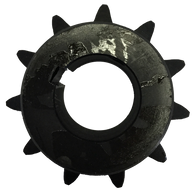 "H4011X58 11-Tooth, 40 Standard Roller Chain Finished Bore Sprocket (1/2"" Pitch, 5/8"" Bore) - Froedge Machine & Supply Co., Inc."