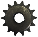 "H6014X1 14-Tooth, 60 Standard Roller Chain Finished Bore Sprocket (3/4"" Pitch, 1"" Bore) - Froedge Machine & Supply Co., Inc."