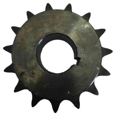 "H6015X114 15-Tooth, 60 Standard Roller Chain Finished Bore Sprocket (3/4"" Pitch, 1 1/4"" Bore)"