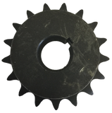 "H6017X1 17-Tooth, 60 Standard Roller Chain Finished Bore Sprocket (3/4"" Pitch, 1"" Bore) - Froedge Machine & Supply Co., Inc."