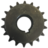 "H6018X1 18-Tooth, 60 Standard Roller Chain Finished Bore Sprocket (3/4"" Pitch, 1"" Bore) - Froedge Machine & Supply Co., Inc."