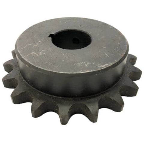 "H6018X114 18-Tooth, 60 Standard Roller Chain Finished Bore Sprocket (3/4"" Pitch, 1 1/4"" Bore)"