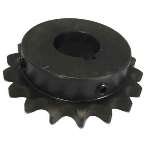 "H6018X1716 18-Tooth, 60 Standard Roller Chain Finished Bore Sprocket (3/4"" Pitch, 1 7/16"" Bore)"