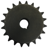 "H6020X114 20-Tooth, 60 Standard Roller Chain Finished Bore Sprocket (3/4"" Pitch, 1 1/4"" Bore) - Froedge Machine & Supply Co., Inc."