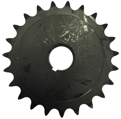 "4023X2 23-Tooth, 40 Standard Roller Chain X-Series Hub Sprocket (1/2"" Pitch, 2"" Bore) - Froedge Machine & Supply Co., Inc."