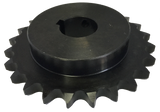 "H6024X112 24-Tooth, 60 Standard Roller Chain Finished Bore Sprocket (3/4"" Pitch, 1 1/2"" Bore) - Froedge Machine & Supply Co., Inc."