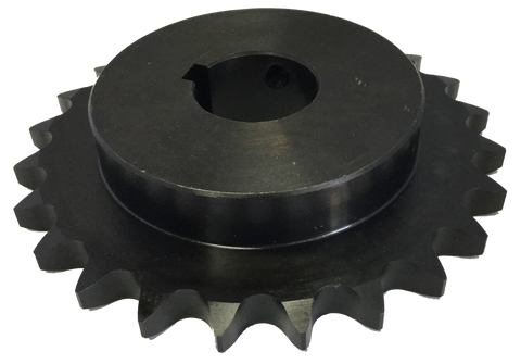 "H8025X11516 25-Tooth, 80 Standard Roller Chain Finished Bore Sprocket (1"" Pitch, 1 15/16"" Bore) - Froedge Machine & Supply Co., Inc."