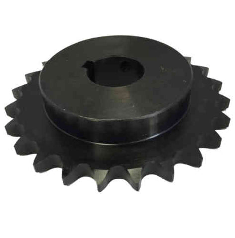 "H6024X112 24-Tooth, 60 Standard Roller Chain Finished Bore Sprocket (3/4"" Pitch, 1 1/2"" Bore)"