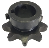 "H609X1 9-Tooth, 60 Standard Roller Chain Finished Bore Sprocket (3/4"" Pitch, 1"" Bore) - Froedge Machine & Supply Co., Inc."