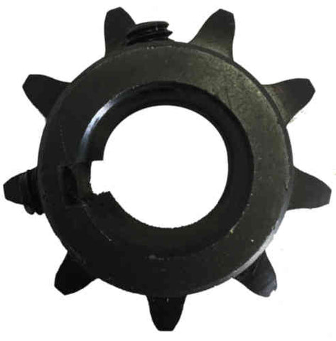 "H609X1 9-Tooth, 60 Standard Roller Chain Finished Bore Sprocket (3/4"" Pitch, 1"" Bore)"