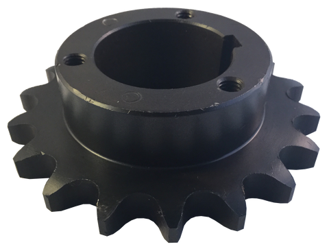 "H80P19 19-Tooth, 80 Standard Roller Chain Split Taper Sprocket (1"" Pitch) - Froedge Machine & Supply Co., Inc."