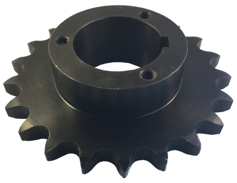 "H80P20 20-Tooth, 80 Standard Roller Chain Split Taper Sprocket (1"" Pitch) - Froedge Machine & Supply Co., Inc."