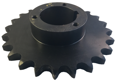 "H50P23 23-Tooth, 50 Standard Roller Chain Split Taper Sprocket (5/8"" Pitch) - Froedge Machine & Supply Co., Inc."