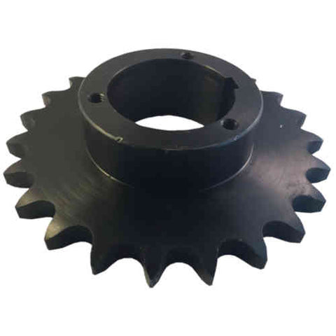 "H60Q23 23-Tooth, 60 Standard Roller Chain Split Taper Sprocket (3/4"" Pitch)"