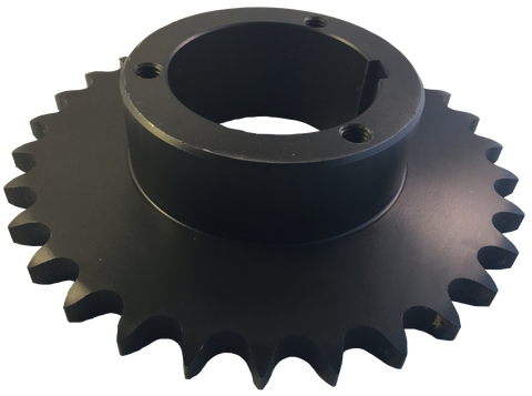 "80Q31 31-Tooth, 80 Standard Roller Chain Split Taper Sprocket (1"" Pitch) - Froedge Machine & Supply Co., Inc."