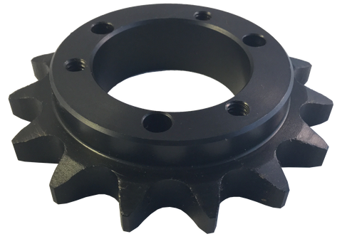 "H60SH14 14-Tooth, 60 Standard Roller Chain Quick Disconnect Sprocket (3/4"" Pitch) - Froedge Machine & Supply Co., Inc."