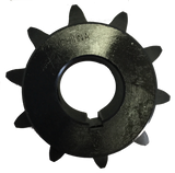 "H8010X1716 10-Tooth, 80 Standard Roller Chain Finished Bore Sprocket (1"" Pitch, 1 7/16"" Bore) - Froedge Machine & Supply Co., Inc."