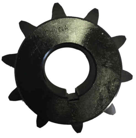 "H8010X114 10-Tooth, 80 Standard Roller Chain Finished Bore Sprocket (1"" Pitch, 1 1/4"" Bore)"