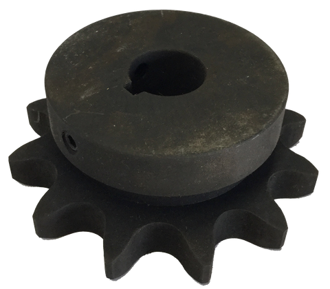 "H8011X1 11-Tooth, 80 Standard Roller Chain Finished Bore Sprocket (1"" Pitch, 1"" Bore) - Froedge Machine & Supply Co., Inc."