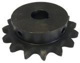 "H8016X138 16-Tooth, 80 Standard Roller Chain Finished Bore Sprocket (1"" Pitch, 1 3/8"" Bore) - Froedge Machine & Supply Co., Inc."