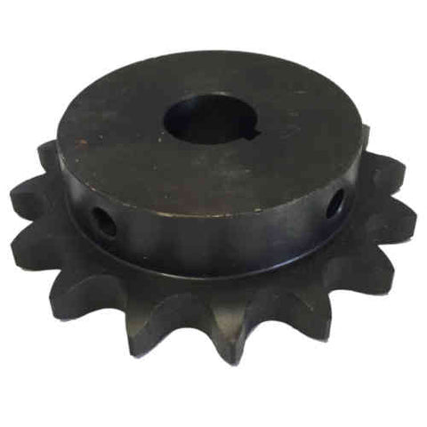 "H8016X138 16-Tooth, 80 Standard Roller Chain Finished Bore Sprocket (1"" Pitch, 1 3/8"" Bore)"