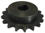 "H8018X112 18-Tooth, 80 Standard Roller Chain Finished Bore Sprocket (1"" Pitch, 1 1/2"" Bore) - Froedge Machine & Supply Co., Inc."