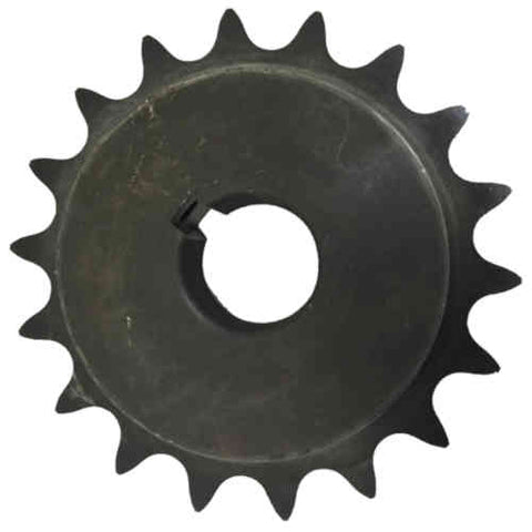 "H8018X112 18-Tooth, 80 Standard Roller Chain Finished Bore Sprocket (1"" Pitch, 1 1/2"" Bore)"