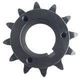 "H80P12 12-Tooth, 80 Standard Roller Chain Split Taper Sprocket (1"" Pitch) - Froedge Machine"