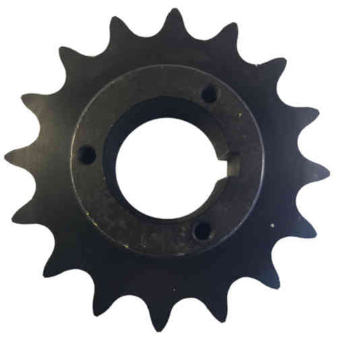 "H80P16 16-Tooth, 80 Standard Roller Chain Split Taper Sprocket (1"" Pitch)"