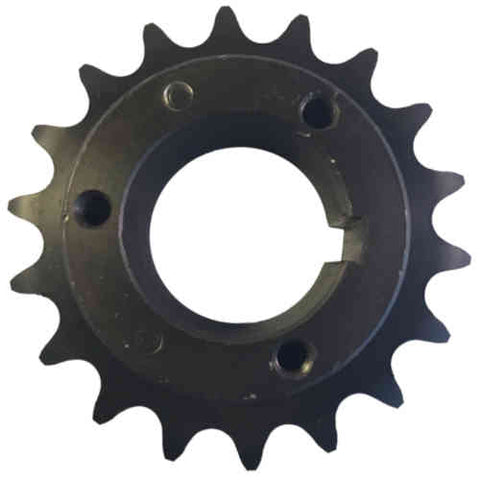 "H80P18 18-Tooth, 80 Standard Roller Chain Split Taper Sprocket (1"" Pitch)"