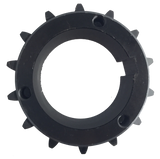"80Q14 14-Tooth, 80 Standard Roller Chain Split Taper Sprocket (1"" Pitch) - Froedge Machine & Supply Co., Inc."