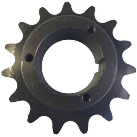 "H80Q15 15-Tooth, 80 Standard Roller Chain Split Taper Sprocket (1"" Pitch)"
