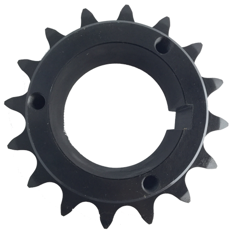 "H100Q16 16-Tooth, 100 Standard Roller Chain Split Taper Sprocket (1 1/4"" Pitch) - Froedge Machine & Supply Co., Inc."